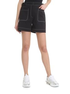 Kenzo - Stylized high-waisted shorts