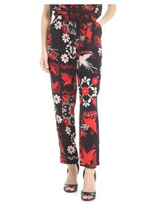 Red Valentino - Trousers with decorated terrace print