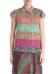 Alice + Olivia - Silk shirt with multicolor flowers