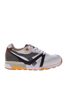 Diadora Heritage - White and grey N9000 H sneakers