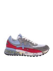 Premiata - Grey and white D Jango sneakers