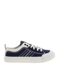 Diesel - Blue fabric sneakers