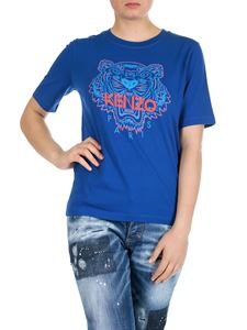 Kenzo - Tiger t-shirt in french blue