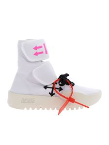 Off-White - Moto Wrap sneakers in white