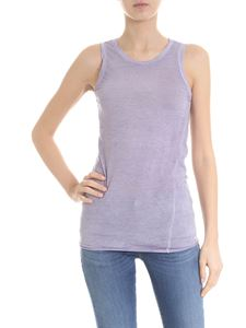 Avant Toi - Lavender sleeveless top