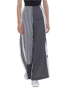 Adidas - Adidas Originals striped pants in black and white