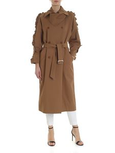 Max Mara - Brown double-breasted Baccara trench coat