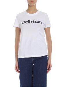 Adidas - T-shirt Essential Linear bianca