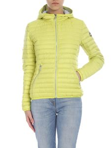 Colmar - Punk down jacket in lime with hood