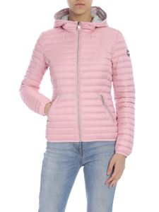 Colmar - Punk down jacket in pink with hood