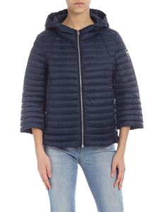 Colmar - Punk hooded down jacket in blue