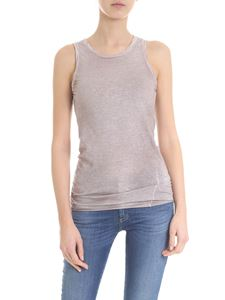 Avant Toi - Sleeveless top in light pink