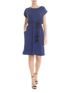 Woolrich - Blue cotton jersey dress