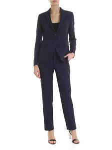 Tagliatore - Blue suit with stitching