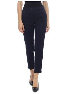 Tommy Hilfiger - Blue trousers with side bands
