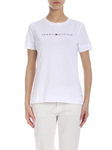 Tommy Hilfiger - White t-shirt with Tommy Hilfiger logo print