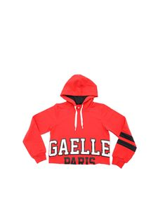 Gaelle Paris - Red cropped sweatshirt