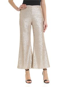 True Royal - Holly trousers in pink sequins