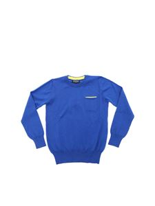 Woolrich - Bluette sweater with pocket