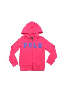 POLO Ralph Lauren - Bright pink sweatshirt with Polo print