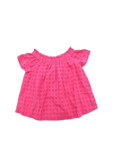 POLO Ralph Lauren - Bright pink macramé top