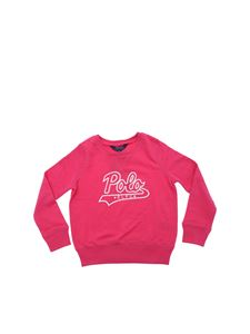 POLO Ralph Lauren - Bright pink Polo RLFC sweatshirt