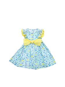 Il Gufo - Green dress with yellow bow
