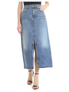 Rag & Bone - Denim skirt with slit