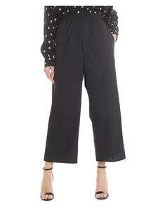 MM6 by Maison Martin Margiela - Black cropped trousers