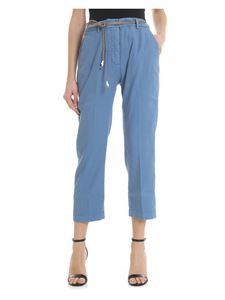 Pence - Light blue Ilda trousers