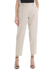 Calvin Klein - Beige trousers with front pleats