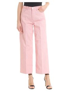 Nine in the morning - Red and white Voice trousers