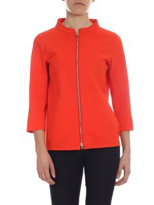 Herno - Three-quarter sleeve jacket in orange