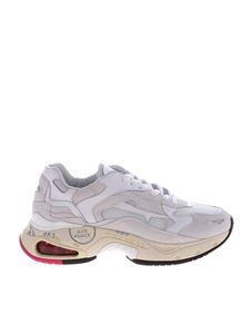Premiata - Chunky Sharky sneakers in white