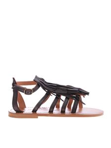 K. Jacques - Sandals Fregate with fringes