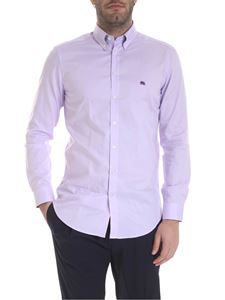 Etro - Button-down shirt in lilac