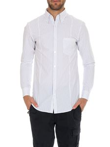 Golden Goose Deluxe Brand - White shirt with striped pattern