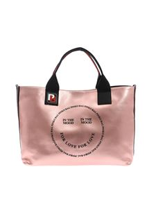Pinko - Pink laminated In The Mood bag