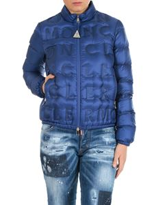 Moncler - Vilnius quilted down jacket in blue