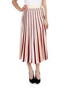 Moncler - Pleated skirt in shades of pink