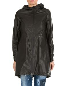 Herno - Parka in black technical fabric