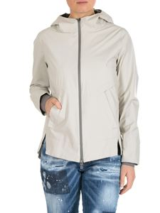 Herno Laminar - Beige technical fabric jacket