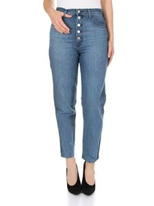 J Brand - Heather eco wash jeans in blue