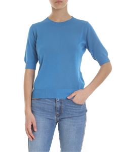 Ermanno Scervino - Turquoise knitted t-shirt