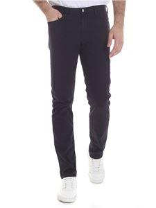 Emporio Armani - Dark blue stretch cotton jeans