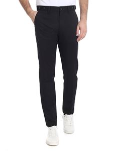 Calvin Klein - Black trousers with logo embroidery