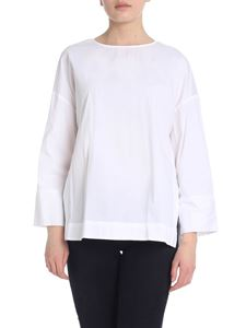 Woolrich - Spring Poplin blouse in white
