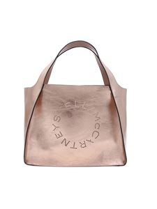 Stella McCartney - Rose gold Stella McCartney shopping bag