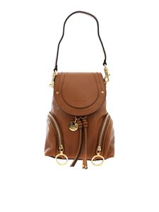 See by Chloé - Camel small Olga backpack
