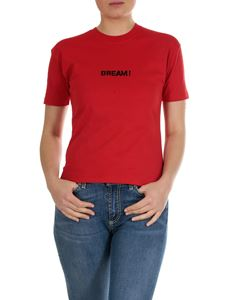 MSGM - Dream printed T-shirt in red